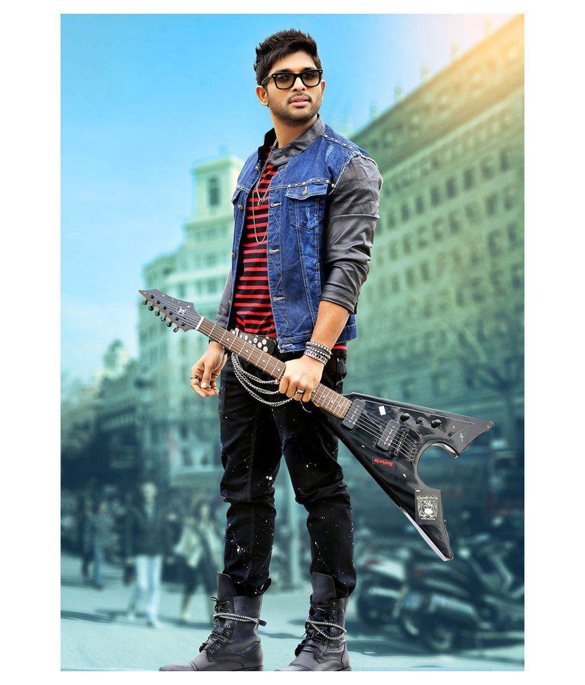 style clues allu arjun poster buy style clues allu arjun poster at
