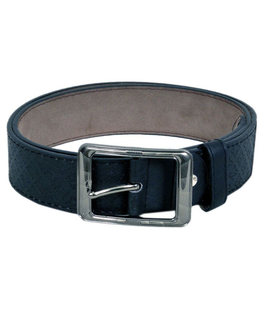 Vintage Black Pin Buckle Casual Belt