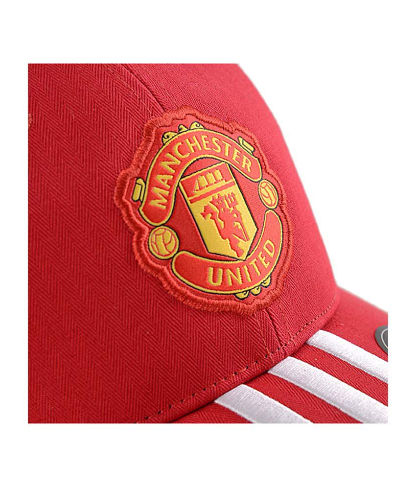Adidas Manchester United Soccer Cap - Red - Buy Online   Rs.  b6a98e00793