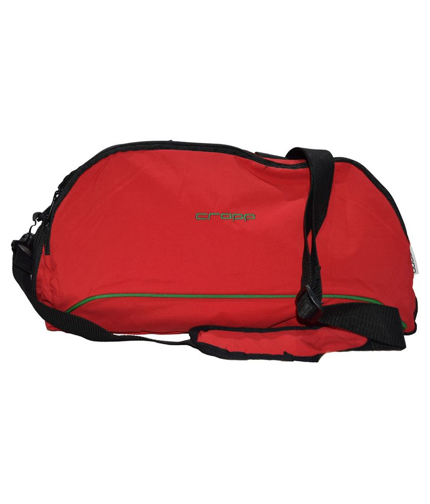 C.Cropp Red Gym Bag