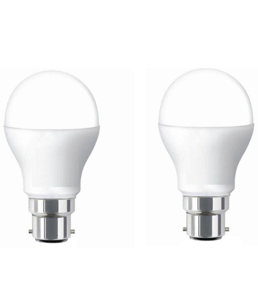 Exalta 7w White Led Bulb Set Of 2