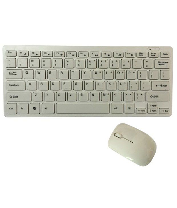 Storite Wireless Keyboard & Mouse Combo White