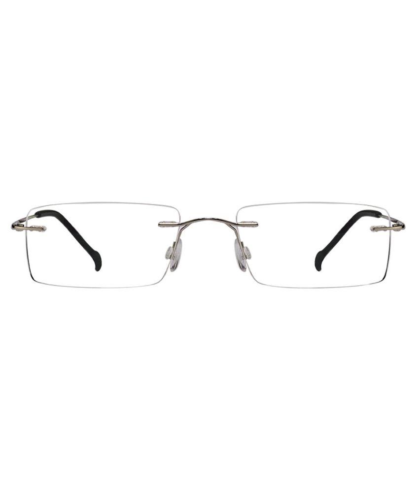 8d6efc932959 Odyssey Silver Rimless Frame-Eyeglasses Odyssey Silver Rimless Frame- Eyeglasses ...