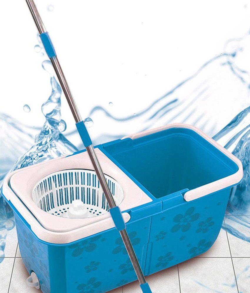 Dreamline Twin Tub Magic Double Bucket Mop Handle Lock for Height ...