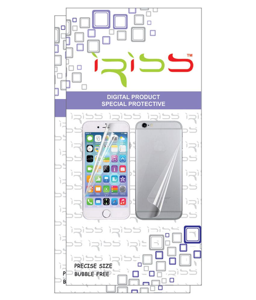 Samsung Galaxy Core 2 Clear Screen Guard by Iriss