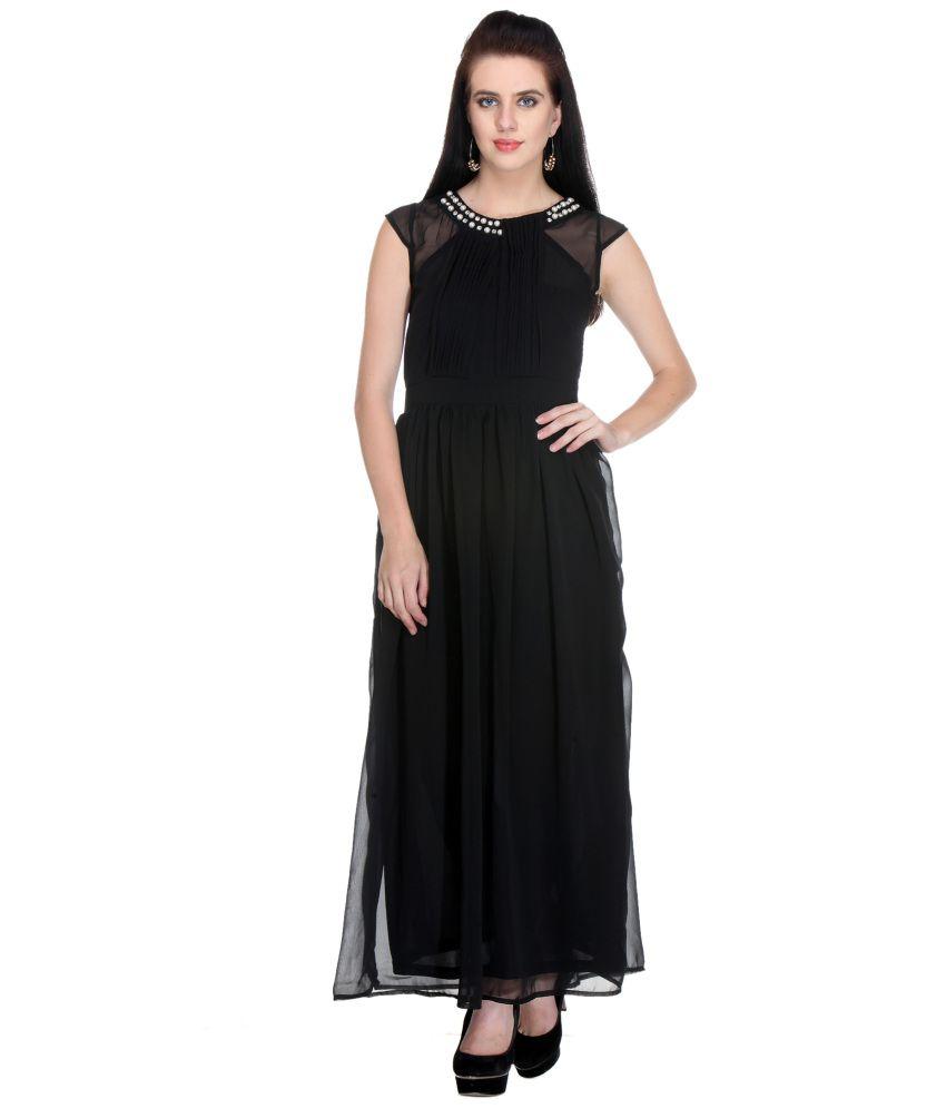 Meee Black Dress - Buy Meee Black Dress Online at Best Prices in ...