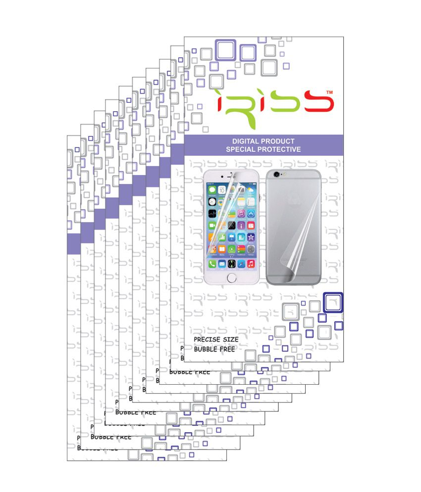 Samsung Galaxy Grand Prime G530 - Pack of 10 Clear Screen Guard by Iriss