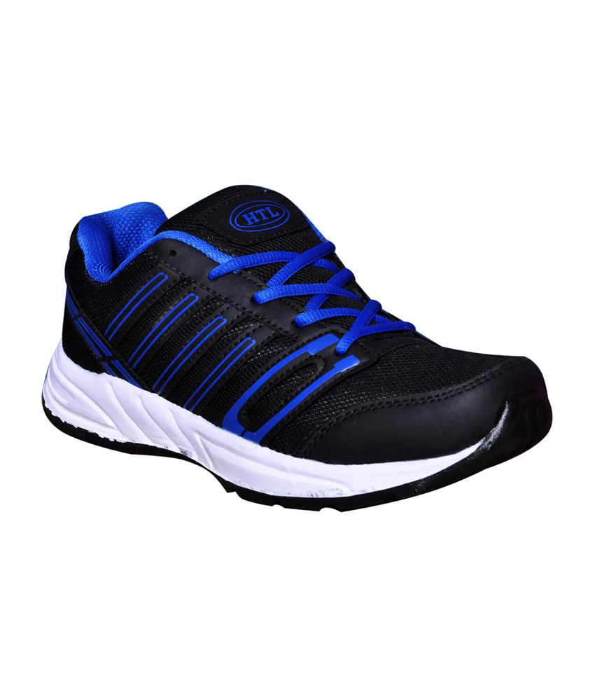 3d4b69bb3a24 Hitcolus Black   Blue Running Shoes - Buy Hitcolus Black   Blue Running  Shoes Online at Best Prices in India on Snapdeal