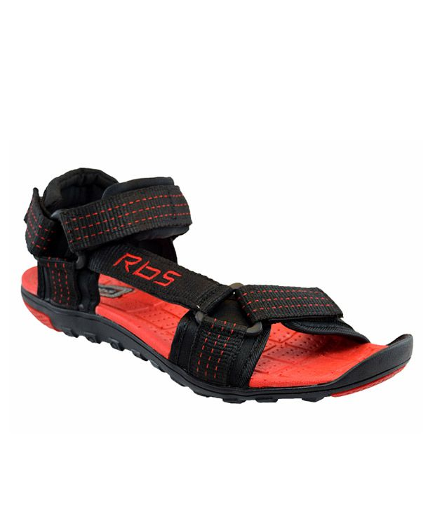 cfdf45a27 JNG RBS Black Floater Sandals - Buy JNG RBS Black Floater Sandals Online at  Best Prices in India on Snapdeal
