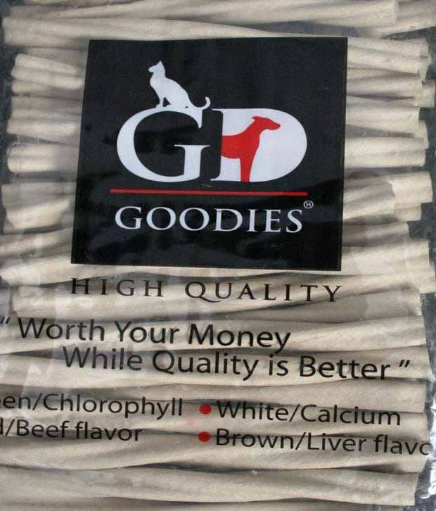 Goofy Tails Goodies Calcium Twisted Dog Treat