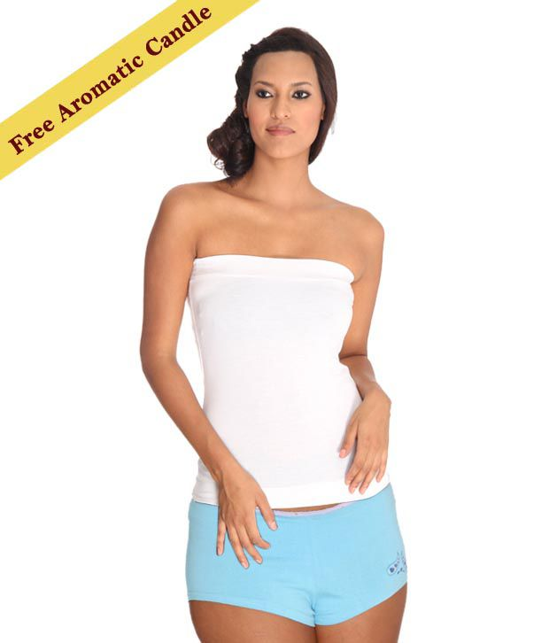 Lieben Mode Blue Shorts With Freebie Aromatic Candle
