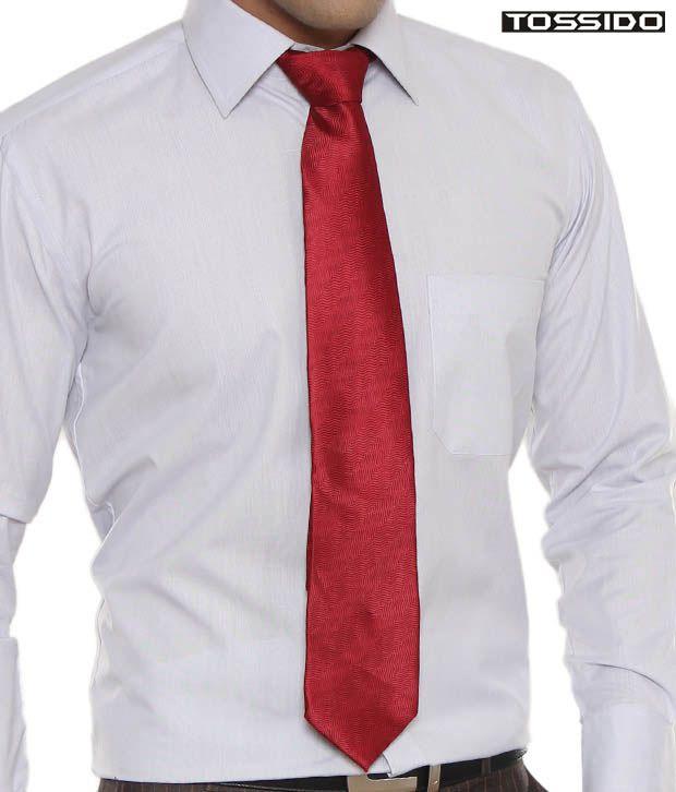 Tossido Stunning Red Tie