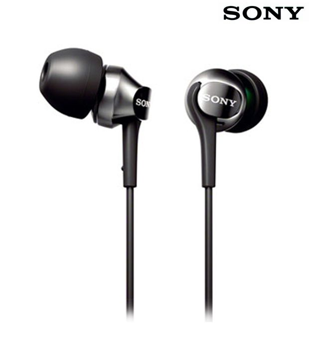 Sony Earphone MDR-60LP Black Without Mic