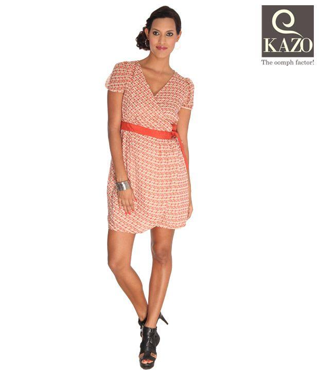 Kazo Smart Orange Dress
