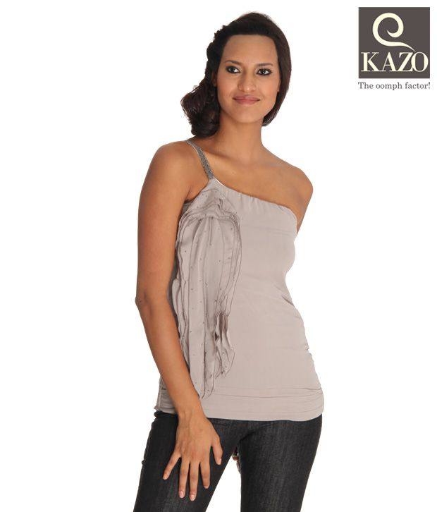 Kazo Smart Light Grey Designer Top