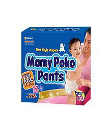 MamyPoko Pants XXL Size 12 Diapers Pack