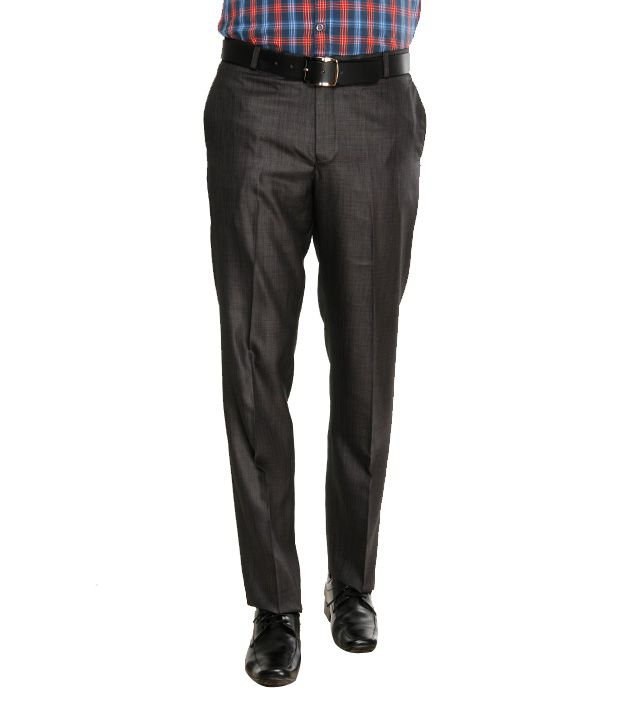 Viggo Classy Brown Trousers