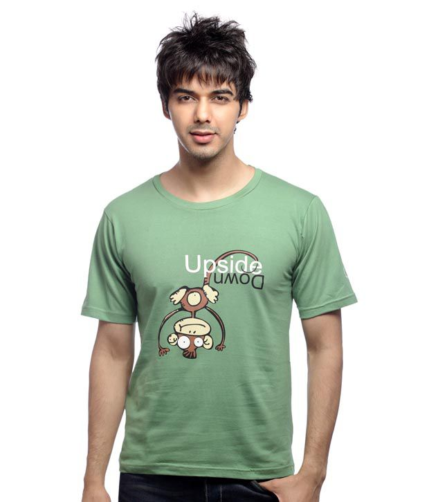 Inkfested Men's Chick Magnet Green T-shirt