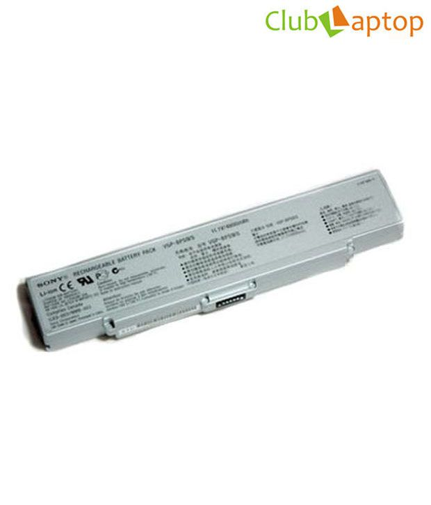 CL Laptop Battery for use with SONY VGN-AR500, VGN-AR600, VGN-AR700, Silver