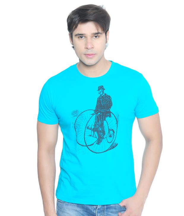 Vvoguish Classic Turquoise T-Shirt