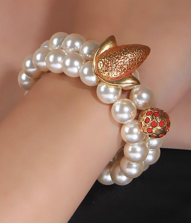 Spyra Preppy Japanese Pearl Bracelet