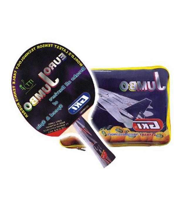 gki euro jumbo tabletennis racket buy online at best price on snapdeal rh snapdeal com