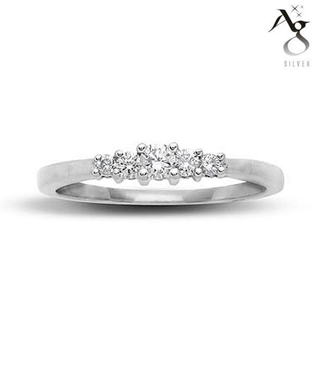 AG Pretty Diamond Ring
