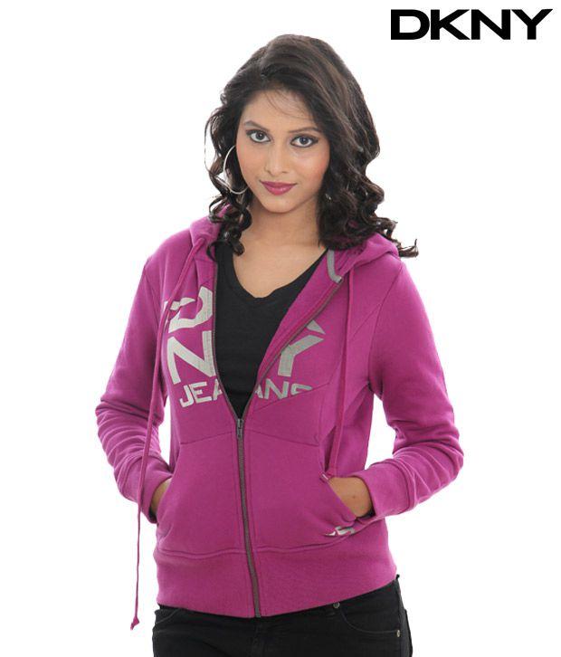 DKNY Ultra Violet Zip Jacket