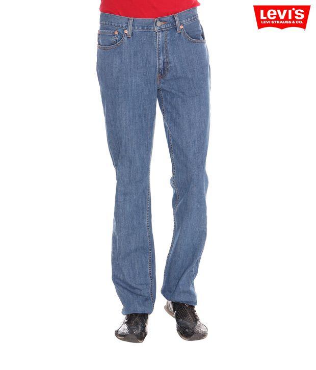 Levi's Regular Straight Fit Light Blue Jeans - 531