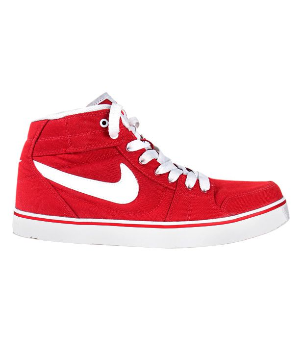Nike Liteforce Mid Red High Ankle Sneakers - Buy Nike Liteforce Mid ... 9f82d1b9e