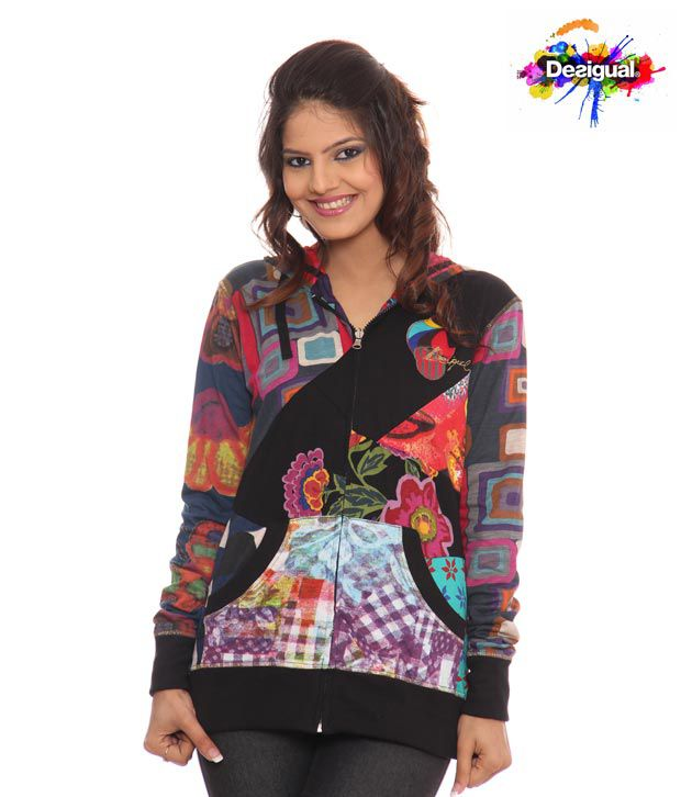 Desigual Pleasing Reversible Jacket