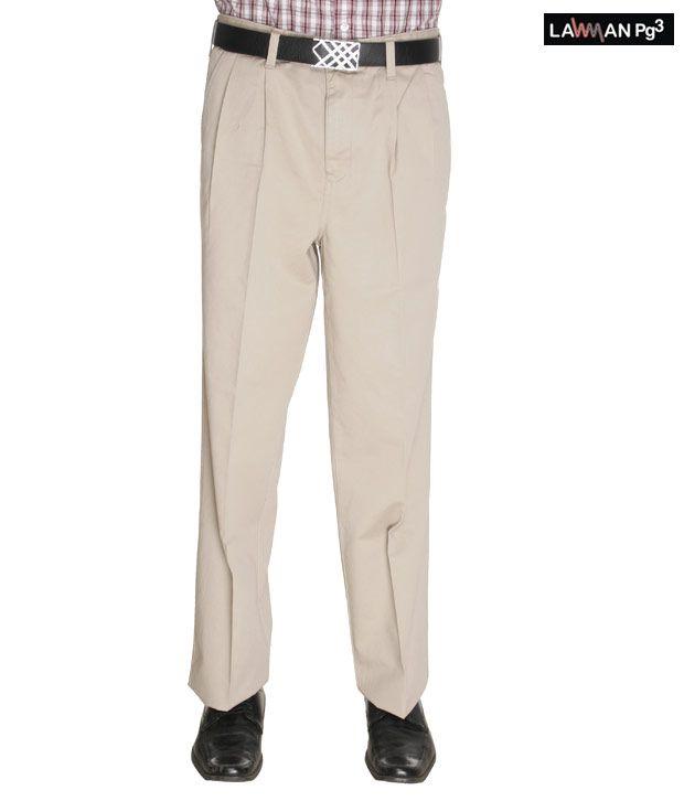 Lawman Classic Beige Trousers