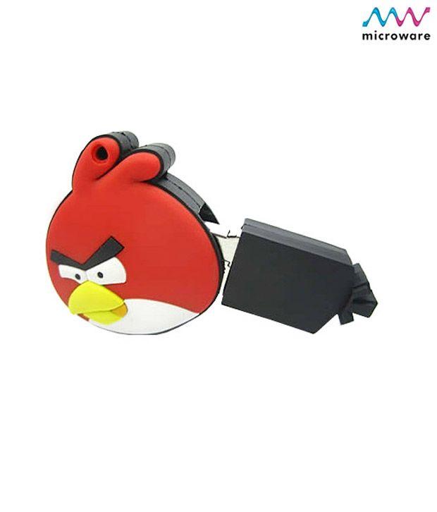 Microware Angry Bird Shape 8 GB