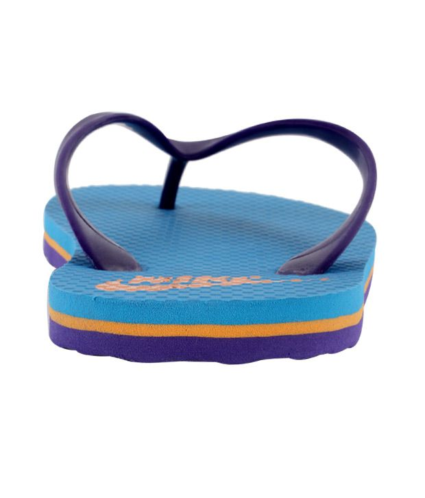 6058ff9da353 Nike Aquahype Blue   Purple Flip Flops Price in India- Buy Nike ...