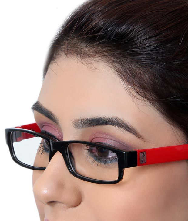 SD Deep Red Temple Optical Frame
