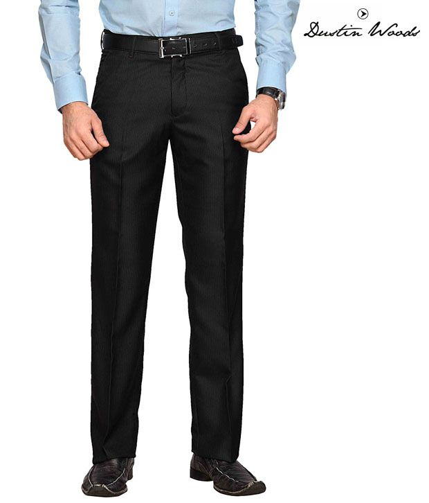 Dustin Wood Formal Black Trouser