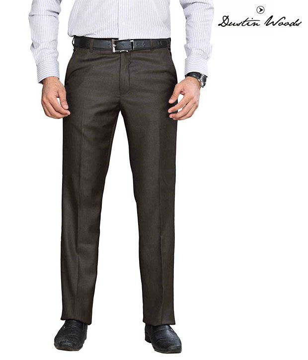 Dustin Wood Formal Brown Trouser