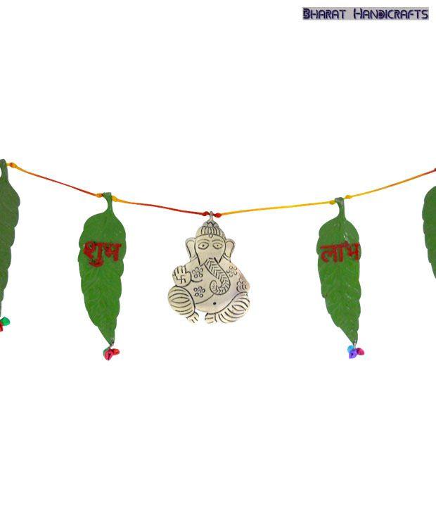 Bharat Handicrafts Bandhanwar With Meenakari Work