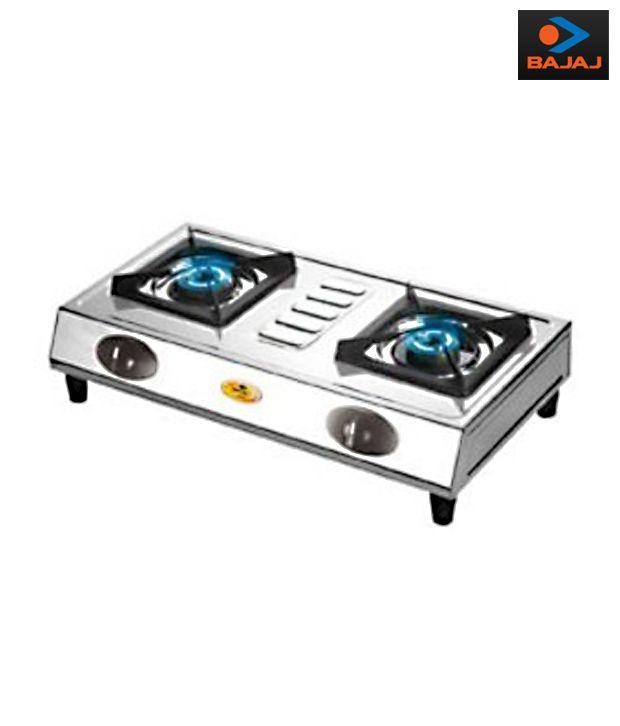 Bajaj stainless steel body Popular E Cooktop