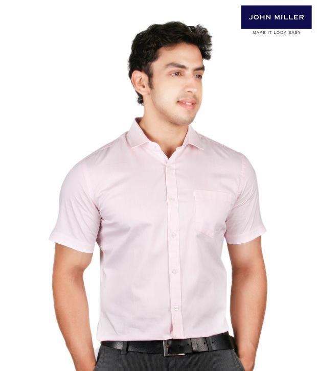 John Miller Spiffy Pink Shirt