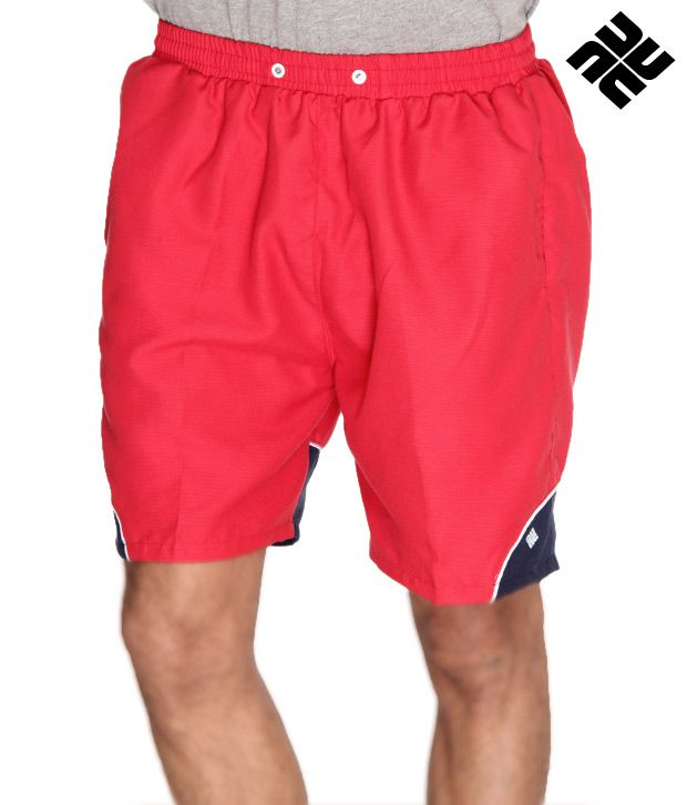 NU9 Trendy Red Shorts