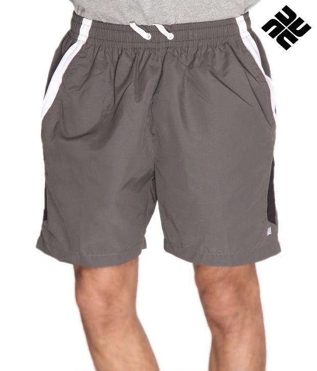 NU9 Smart Grey Shorts