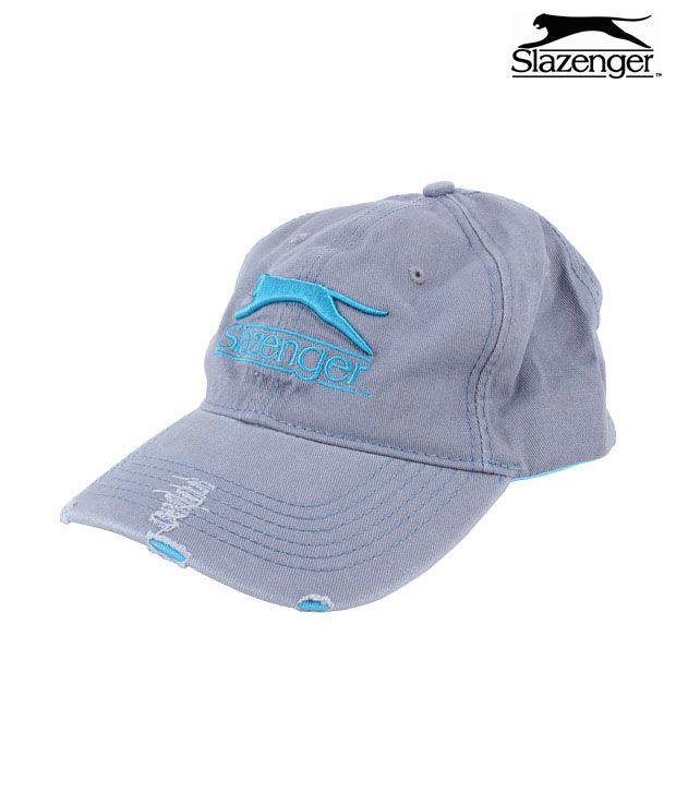 Slazenger Cap (Grey / Blue)