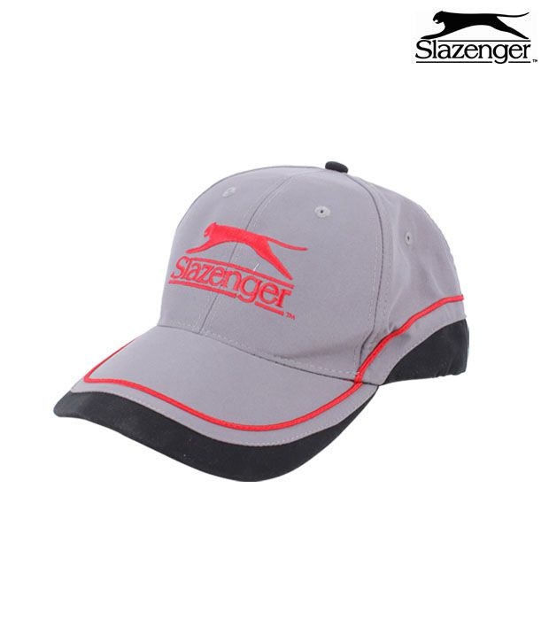 Slazenger Cap (Grey / Black)