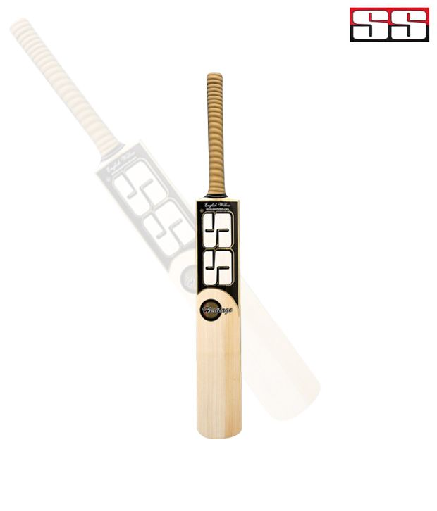 SS Heritage No 6 English Willow Cricket Bat