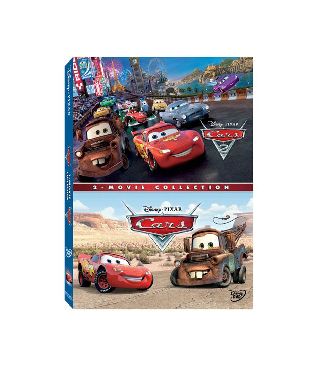 Cars & Cars 2 Combo Pack (English) [DVD]