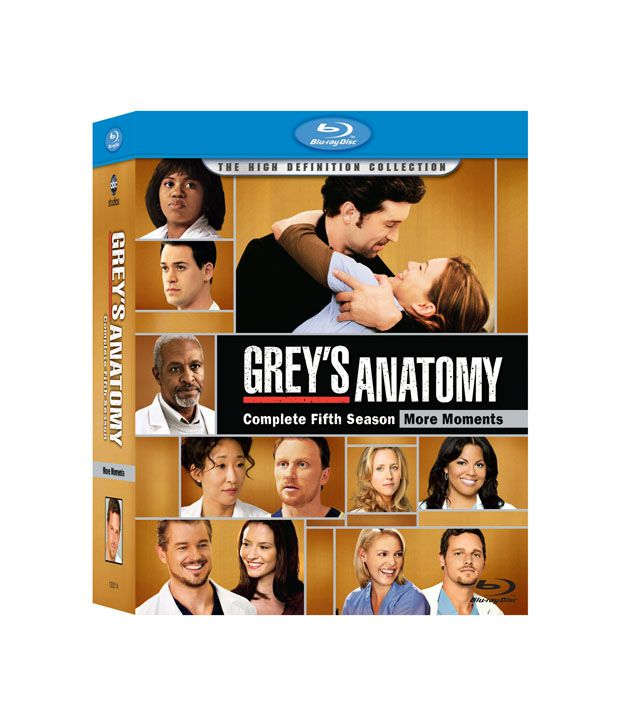 Greys Anatomy Season 5 English Blu Ray Buy Online At Best