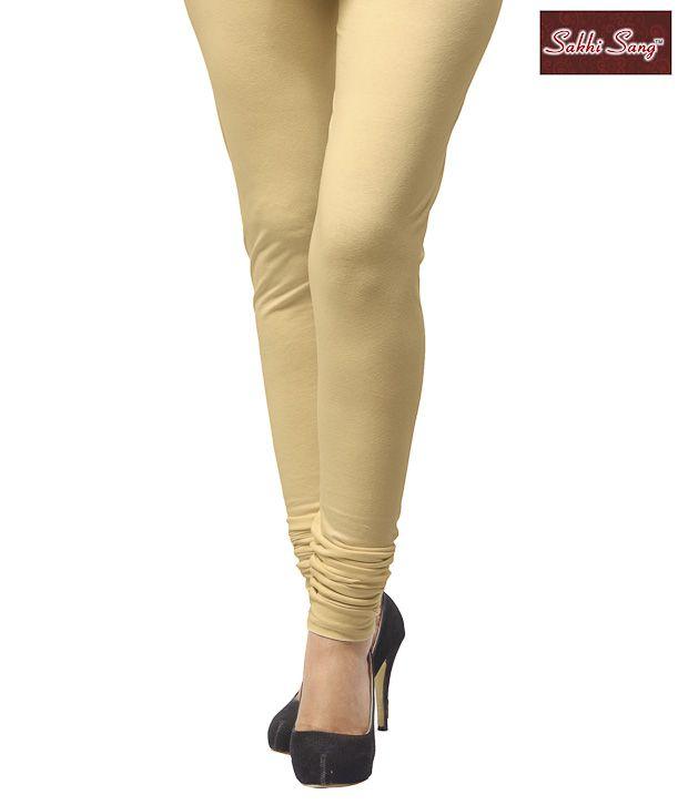Sakhi Sang Faun Cotton Lycra Leggings