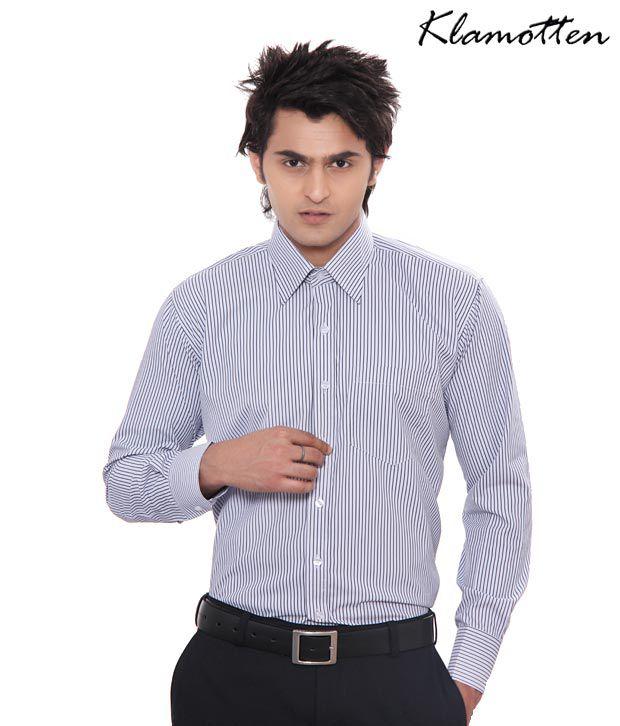 Jonnie Fresh Sky Blue Striped Shirt