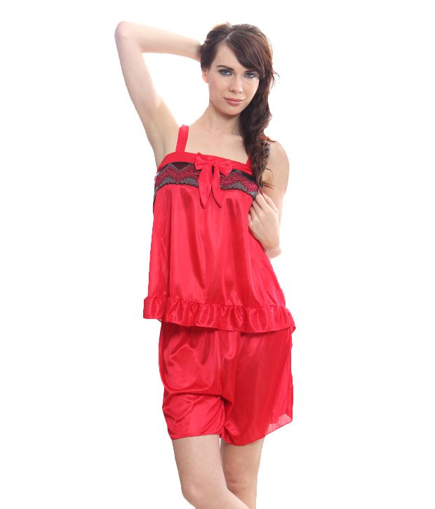 Kunchals Smart Red Nightwear